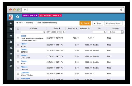 Batch Management of Inventory