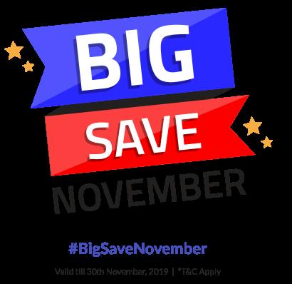 BigSaveNovember - Payment Reco Landing Page